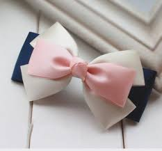 ribbon hair bows layered blue hair bow search hair bow inspiration