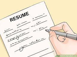 Banking Job Resume by How To Get A Bank Job 15 Steps With Pictures Wikihow