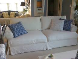 Pottery Barn Sofa Covers by T Cushion Sofa Slipcovers Pottery Barn Best Home Furniture
