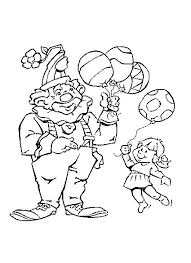 coloring page clown coloring pages 19