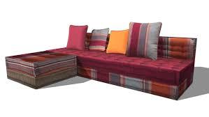 canapé cancun maison du monde l esprit seventies est de retour avec ce canapé 3 places cancun