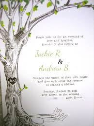 tree wedding invitations the giving tree wedding invitations might make you cry offbeat