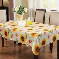 ennas engineered flannel backed vinyl tablecloth oblong rectangle