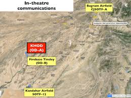 Bagram Air Base Map Special Forces Geographical Imaginations