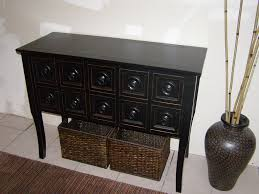 black console table with storage tips to buy console table with drawers thedigitalhandshake furniture