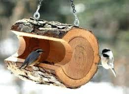 cedar bird feeders for sale via originals log bird feeder that
