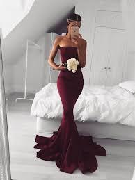 wedding dress maroon mermaid burgundy maroon prom dress burgundy mermaid formal