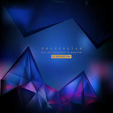 background design navy blue top abstract navy blue geometric triangle background design photos