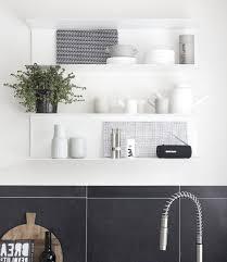 kitchen kitchen counter shelf open upper kitchen cabinets