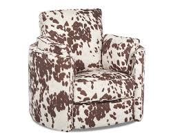 Swivel Accent Chairs by Udder Maddness Cow Reclining Swivel Accent Chair