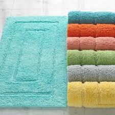 24 X 60 Bath Rug Beautiful Cotton Bath Rugs Reversible Cotton Turquoise Bath Rug