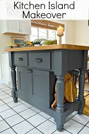 easy kitchen island easy kitchen island makeover kitchen island makeover diy