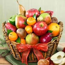 Fruit Basket Gifts Organic Gift Baskets All About Gifts U0026 Baskets
