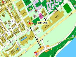 Suntec City Mall Floor Plan by Location