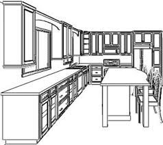 Kitchen Cabinets Design Layout Home Design Ideas - Kitchen cabinet layouts