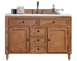 Bathroom Vanity 48 by Copper Cove Driftwood Single Sink Bathroom Vanity Soft Close