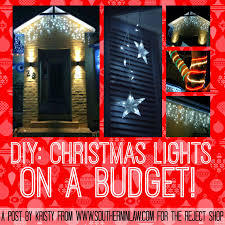 How To Hang Christmas Lights On House by Southern In Law Diy Christmas Lights On A Budget