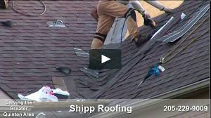 White Roofing Birmingham by Shipp Roofing Roofer In Birmingham Al On Vimeo
