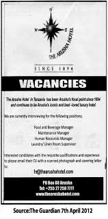 food and beverage manager maintenance manager human resources