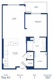 1 Bedroom Floor Plans by Studio 1 U0026 2 Bedroom Apartments In Hollywood Ca The Camden