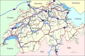 Physical Map Of Europe Rivers geography of switzerland
