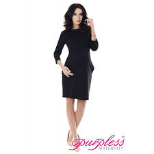 casual dress with pockets 6107 black