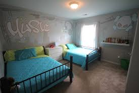 kids room best paint for cute ideas carpet blue color wall with