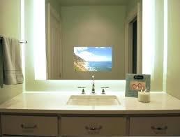 Mirror Bathroom Tv Vanguard 19 Waterproof Mirror Bathroom Tv Screen Illuminated