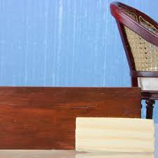 add a realistic faux mahogany finish to almost anything