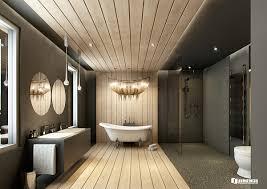 vrayforc4d scene files modern classic bathroom scene on behance