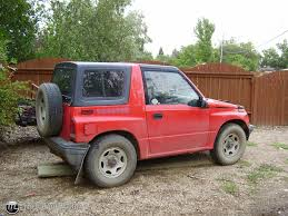 chevy tracker convertible 1992 geo tracker id 8801