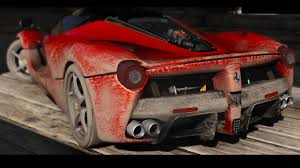 camo ferrari 2015 ferrari laferrari add on livery hq gta5 mods com