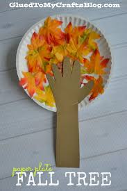 paper plate fall tree kid craft fall trees crafts and sunday