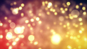 gold abstract lights bokeh background moving gloss particles