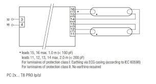 tridonic 22176078 tridonic pc 2 30 t8 pro ballast