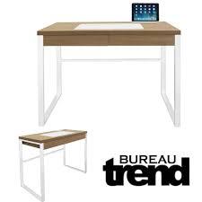 bureau industriel bois et metal bureau industriel trend bois et metal blanc bureau topkoo