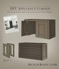 Kitchen Cabinets In Garage Best 10 Appliance Garage Ideas On Pinterest Appliance Cabinet