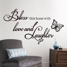 wall art design ideas aliexpress online wall words art shopping aliexpress online wall words art shopping home decoration black butterfly flying blessing love laughter