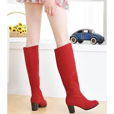 womens boots large sizes large size boots the knee boots low heel toe
