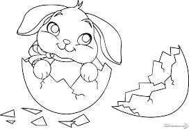 127 dessins de coloriage lapin à imprimer