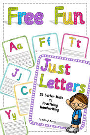 free cursive writing paper 190 best handwriting images on pinterest handwriting activities free handwriting mats to practice learning and writing letters
