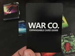 an early review of war co expandable card game by pangea games