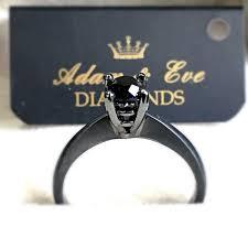 inele logodna aur alb inel de logodna cu diamant negru adam diamonds
