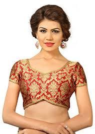 open blouse vamas maroon brocade back open blouse at glowroad ri1g7v