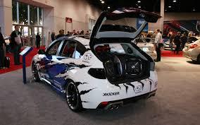 subaru wrx customized subaru wrx stis sema 2011 motor trend