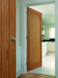 oak internal interior door looking good in a modern house lodge