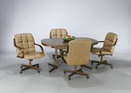 Kitchen Table With Wheels by Wholesale Dinettes Tobias Designs Throughout Kitchen Chairs On