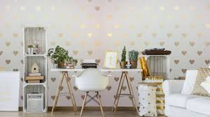 diy heart mural with hearts allover stencils diy office decor diy heart mural with hearts allover stencils diy office decor my wonderful walls