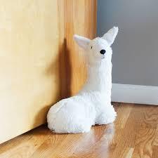 weighted door stop llama butler doorstop door stopper cute animals uncommongoods