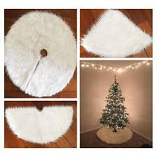 white tree skirts white tree skirts